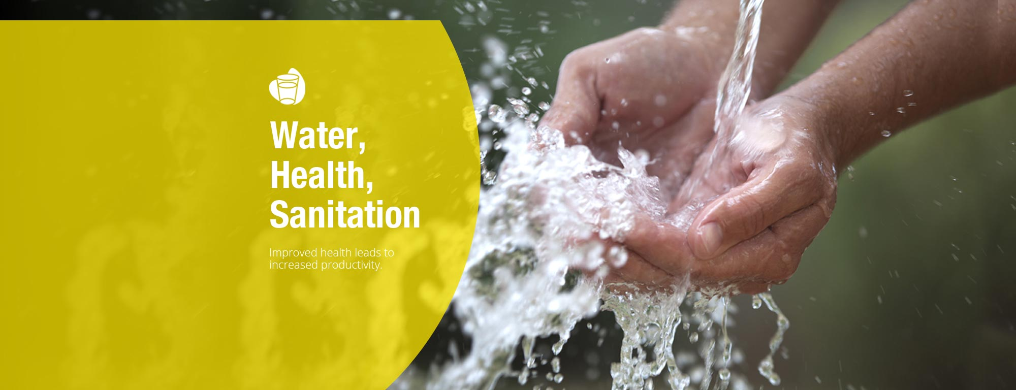 Water health sanitation