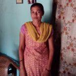 Vanita posing in her house