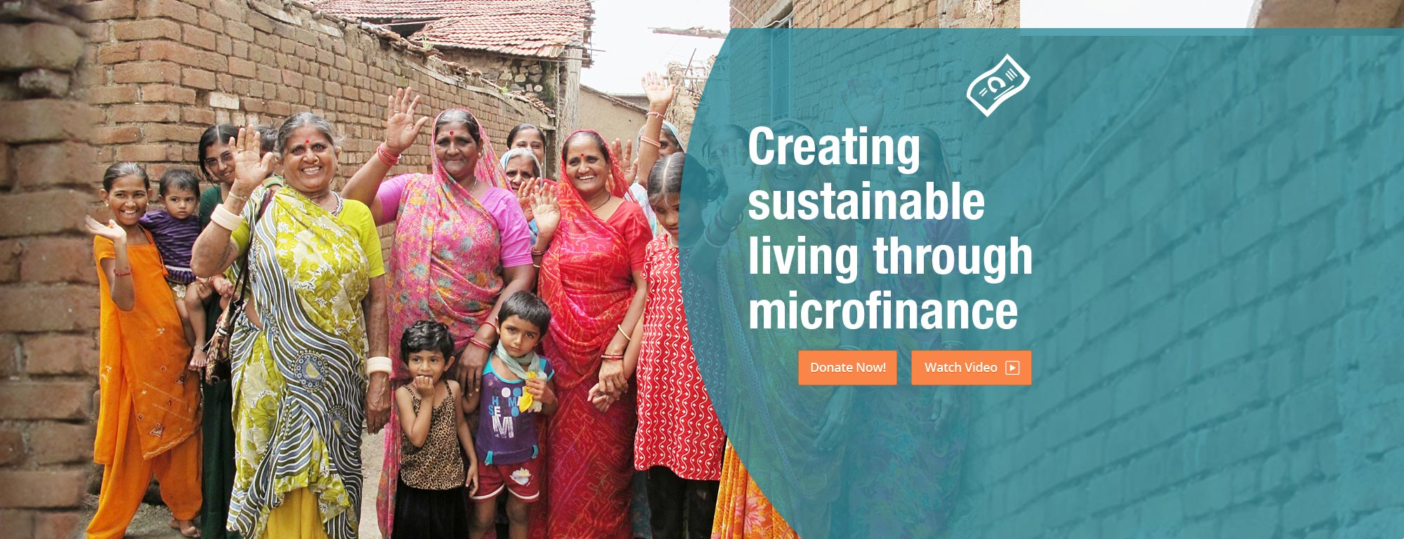 Creating sustainable living through microfinance