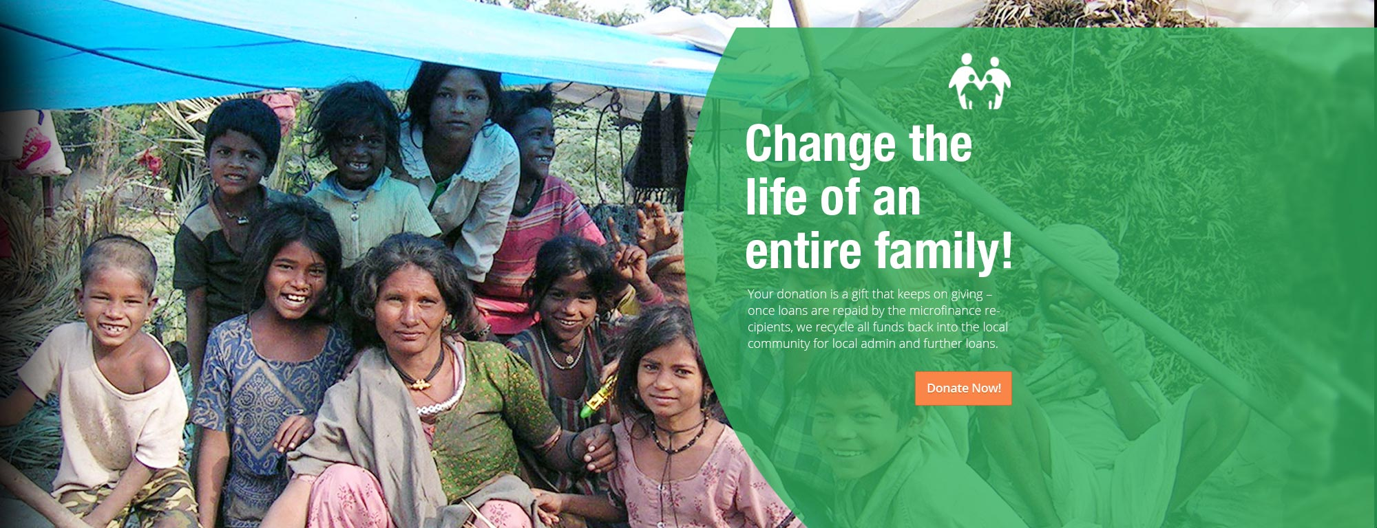 Change the life of an entire family