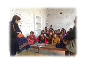 Training initiative in Atsaliya village, Hardoi District, UP, India