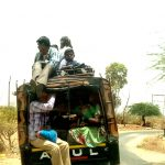 These rickshaws are almost replacements for public transports in smaller villages